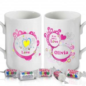 Groovy Doodle Love Mug