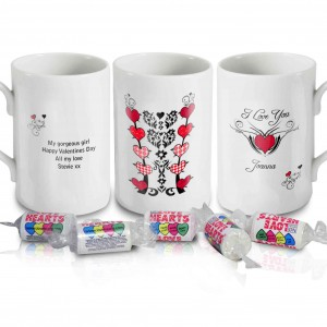 Tattoo Hearts Mug