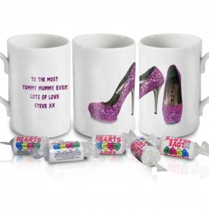 Sparkly Pink Shoes Mug