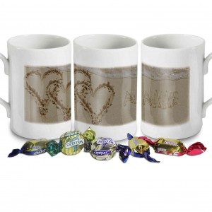 Sand Heart Windsor Mug