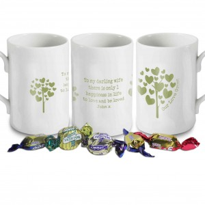 Love Grows green Windsor Mug