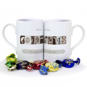 Affection Art Godparents Mug Set