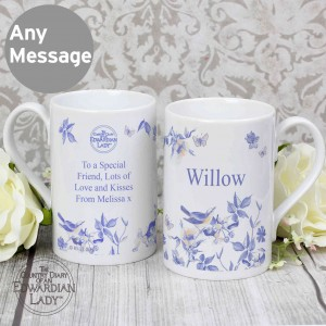 Country Diary Blue Blossom Windsor Mug
