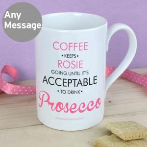 Acceptable to Drink Windsor Mug