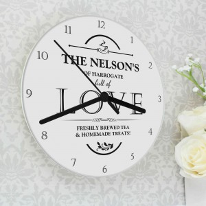 Full of Love Clock