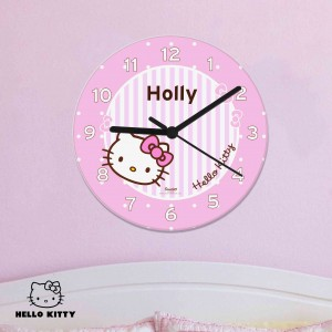 Hello Kitty Bow Clock
