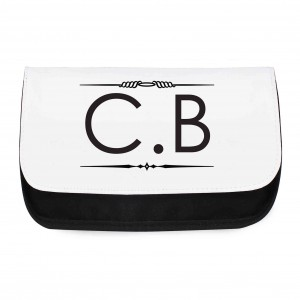Initials Make Up Bag