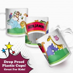 Zoo Plastic Cup