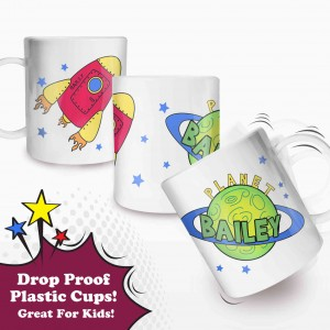 Space Plastic Cup