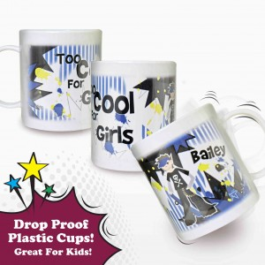 Too Cool Boy Plastic Cup