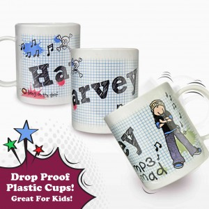 Bang on the Door MP3 Mad Plastic Cup