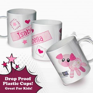 Cotton Zoo Organdie Plastic Cup