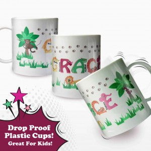 Animal Alphabet Plastic Cup Girls