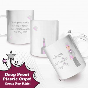 Fabulous Pageboy Plastic Cup