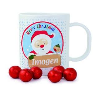 Santa Plastic Cup