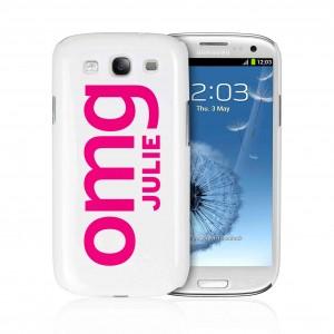 OMG Slogan Samsung S3 Case