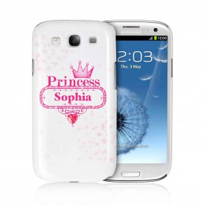 Bling Princess Samsung S3 Case