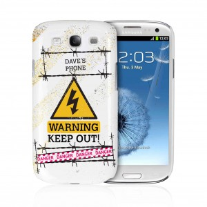 Keep Out Samsung S3 Case