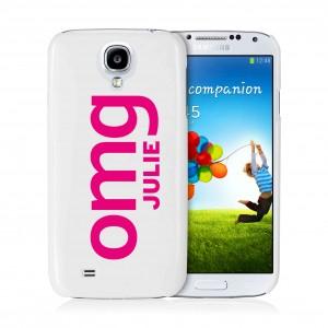 OMG Slogan Samsung S4 Case