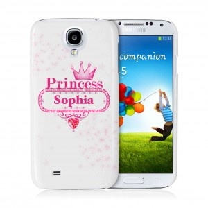 Bling Princess Samsung S4 Case