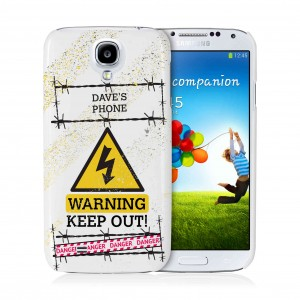 Keep Out Samsung S4 Case