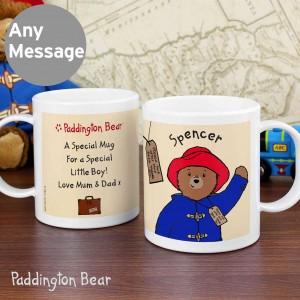 Paddington Bear Plastic Mug