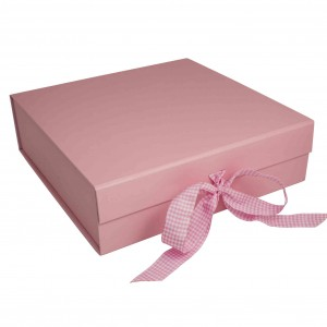 Pink Presentation Gift Box - Suitable for Breakfast Sets