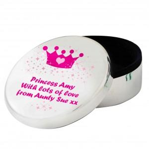 Pink Crown Round Trinket