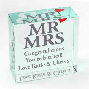 Mr & Mrs Medium Crystal Token