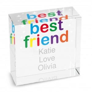 Best Friend Medium Crystal Token