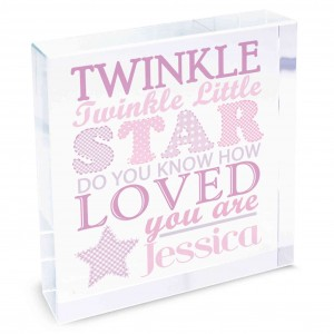 Twinkle Girls Large Crystal Token