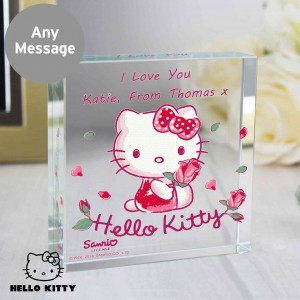 Hello Kitty Cherry Bloom Large Crystal Token