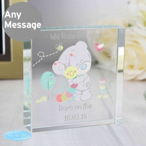 Tiny Tatty Teddy Cuddle Bug Large Crystal Token