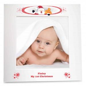 Christmas White 6x4 Photo Frame