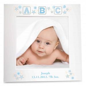 Blue ABC White 6x4 Photo Frame
