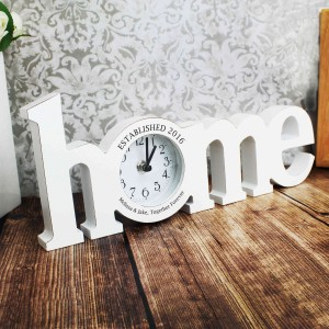 Home Wooden Clock