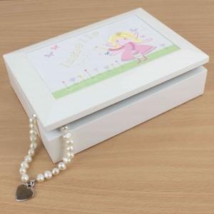 Garden Fairy Jewellery Box