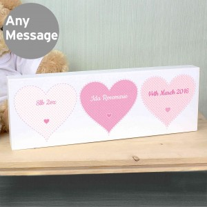 Stitch & Dot Girls Mantel Block