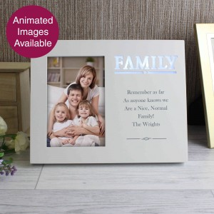 Family Any Message 6x4 Light Up Frame