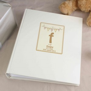 Cute Bunting Traditional Album