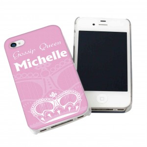 Pink Crown iPhone Case