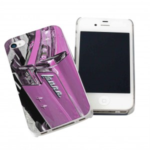 Pink Car iPhone Case