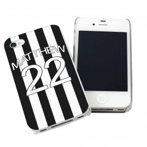 Newcastle United Style Shirt iPhone Case