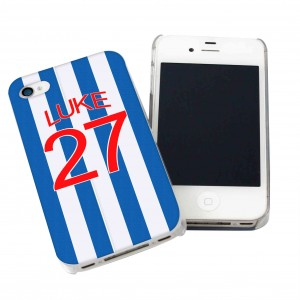 West Brom Style Shirt iPhone Case