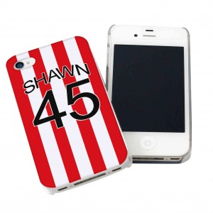 Stoke City Style Shirt iPhone Case