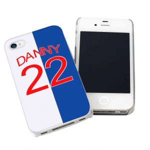 Blackburn Rovers Style Shirt iPhone Case