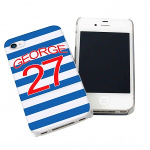 Queens Park Rangers Style Shirt iPhone Case
