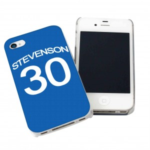 Everton Style Shirt iPhone Case