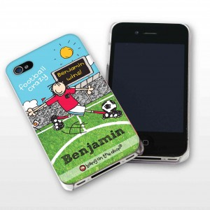 Bang On The Door Football Crazy iPhone Case