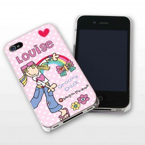 Bang On The Door Groovy Chick iPhone Case